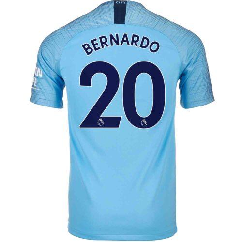 2018/19 Nike Bernardo Silva Manchester City Home Jersey