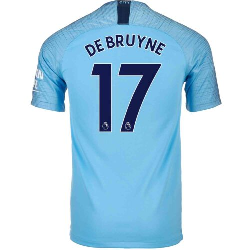 2018/19 Nike Kevin De Bruyne Manchester City Home Jersey