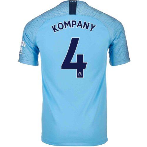 2018/19 Nike Vincent Kompany Manchester City Home Jersey