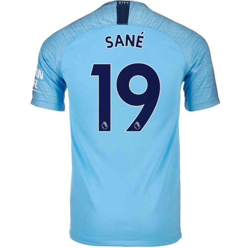 2018/19 Nike Leroy Sane Manchester City Home Jersey