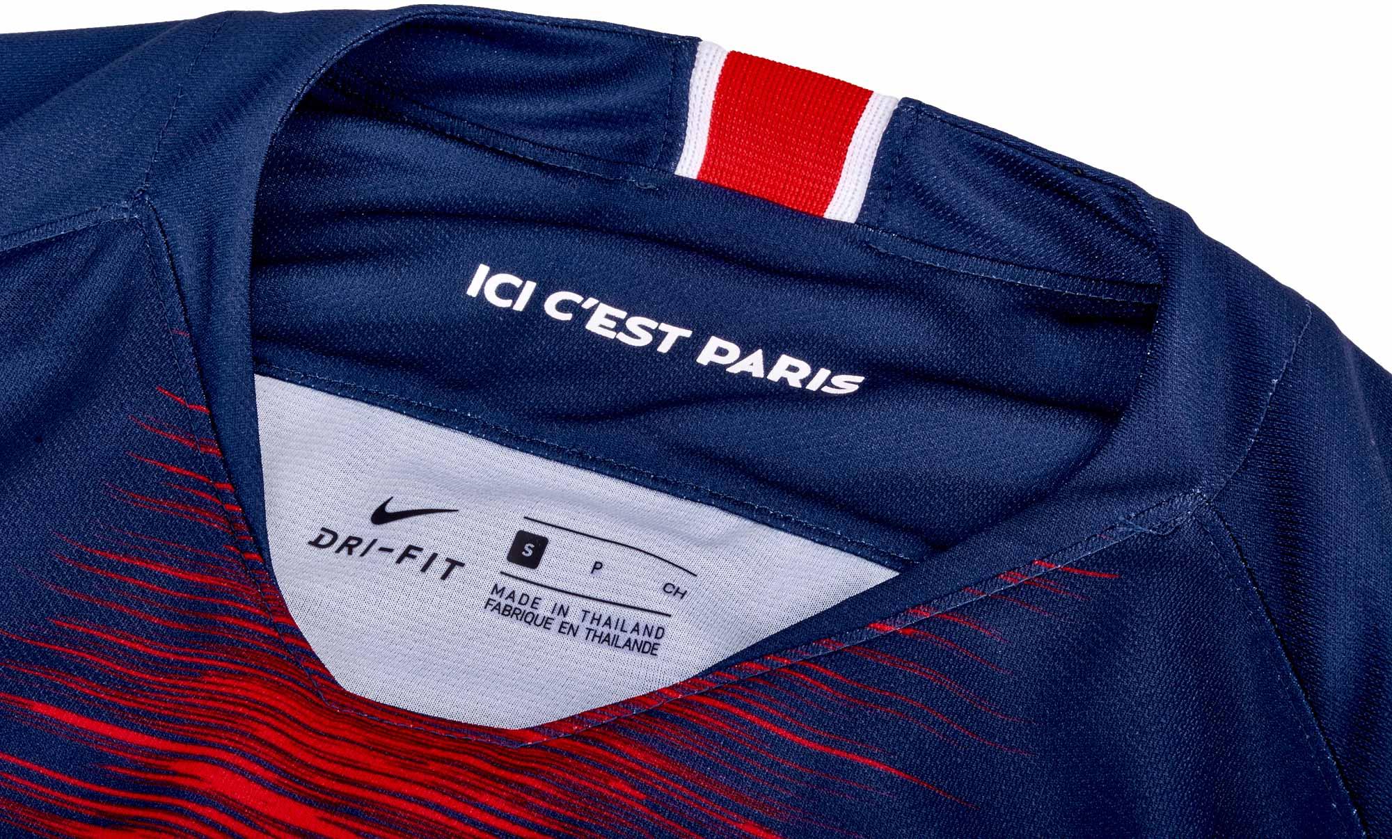 lowest price 16cd6 c9d28 Nike Kylian Mbappe PSG Home Jersey 2018-19 - SoccerPro
