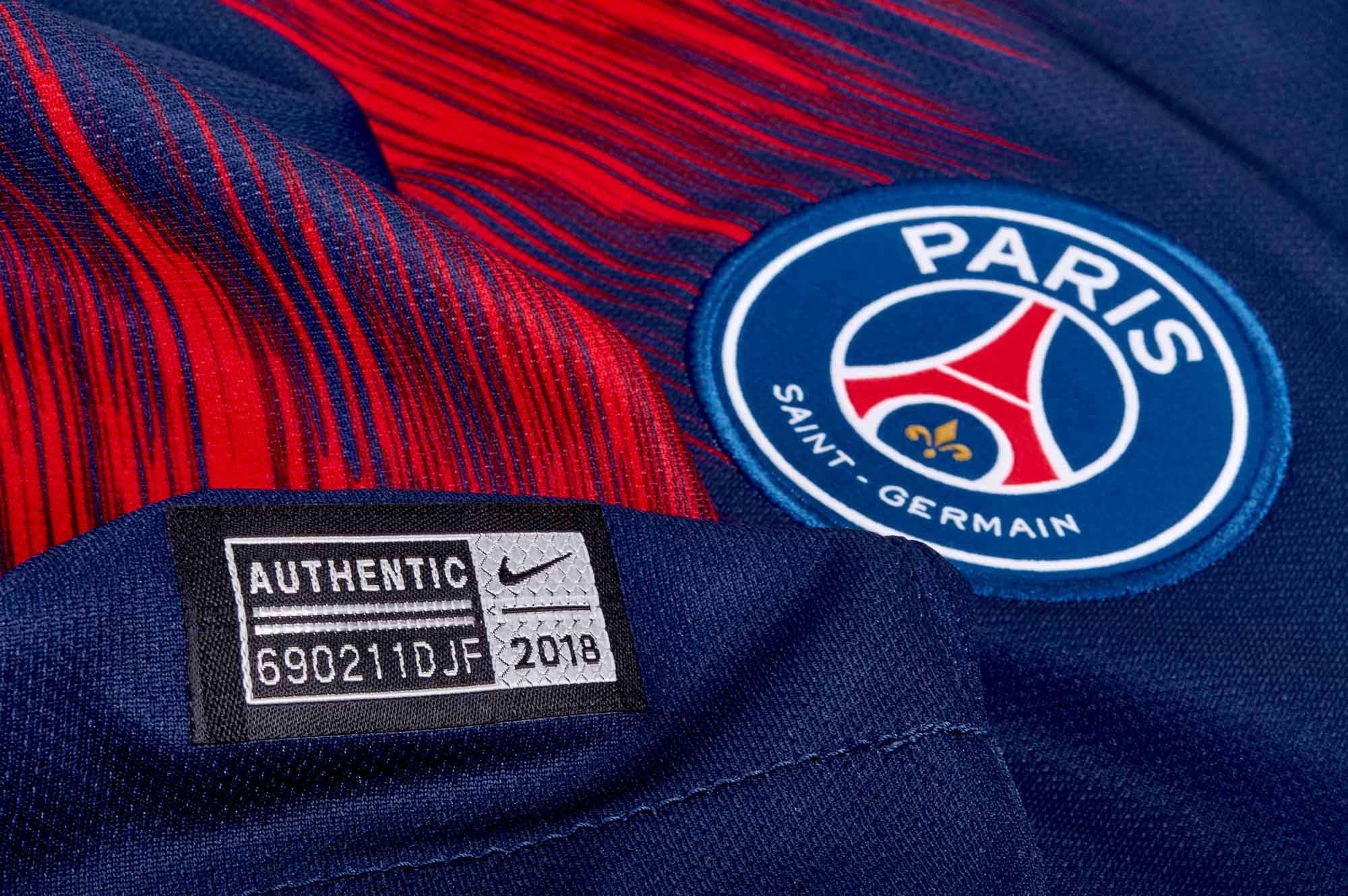 6676ff77a5a44 Nike PSG Home Jersey 2018-19 - SoccerPro