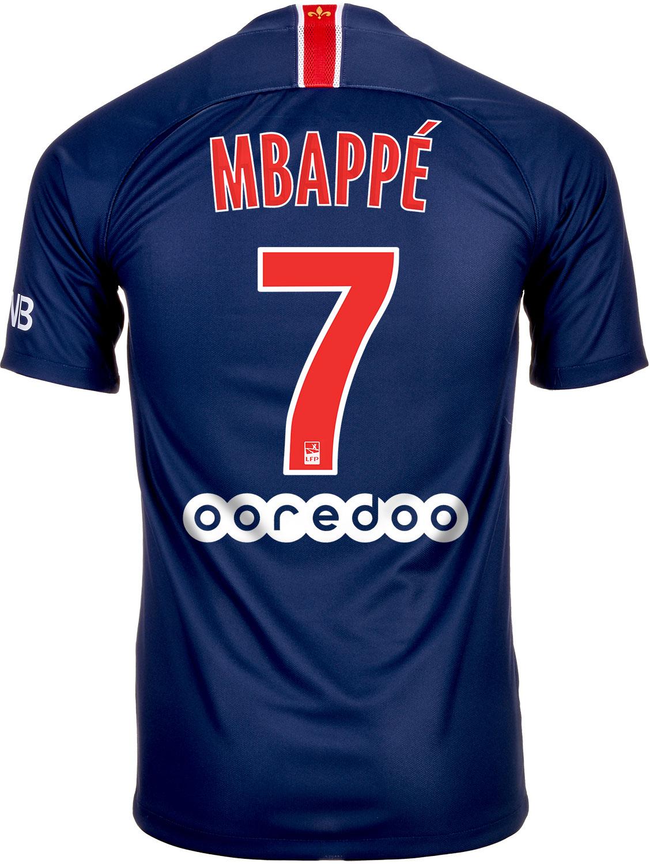 lowest price 8356c 5c3cb Nike Kylian Mbappe PSG Home Jersey 2018-19 - SoccerPro