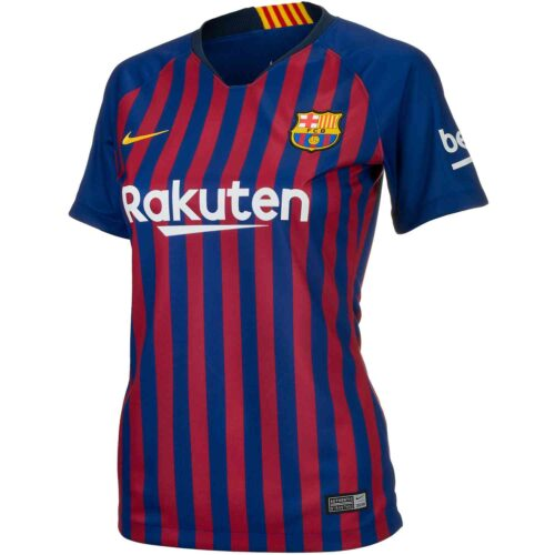 1395f4439 Nike Barcelona Home Jersey – Womens 2018-19