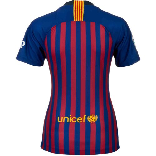 Nike Barcelona Home Jersey – Womens 2018-19