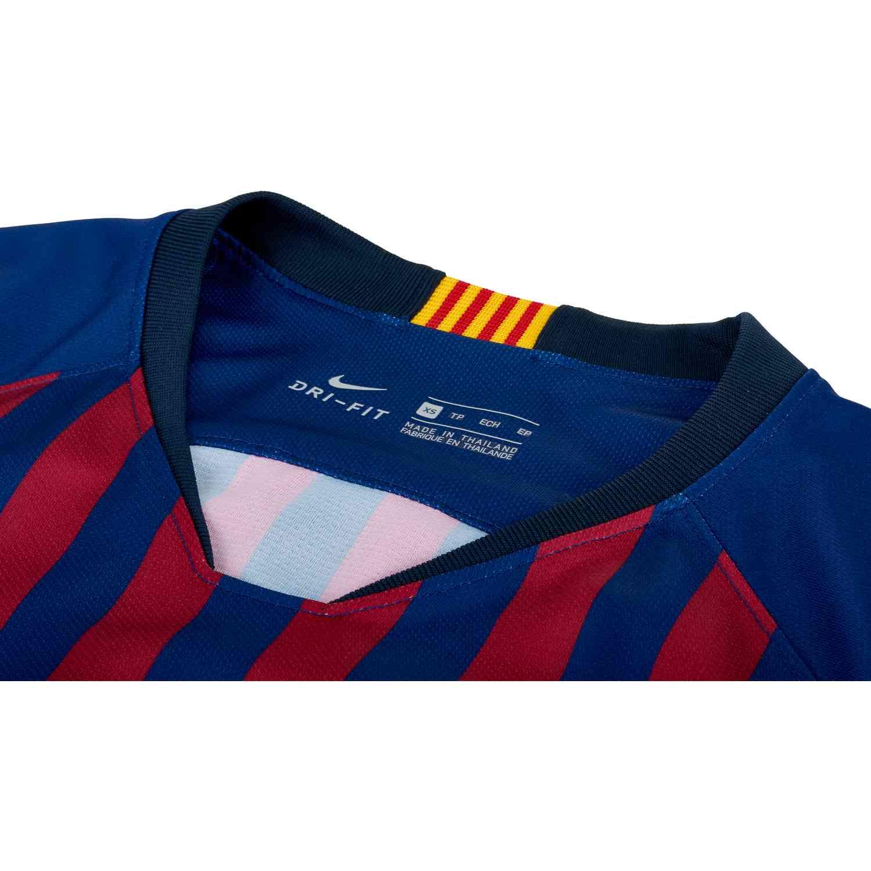 new styles 15ca7 5b069 Nike Barcelona Home Jersey - Womens 2018-19 - SoccerPro