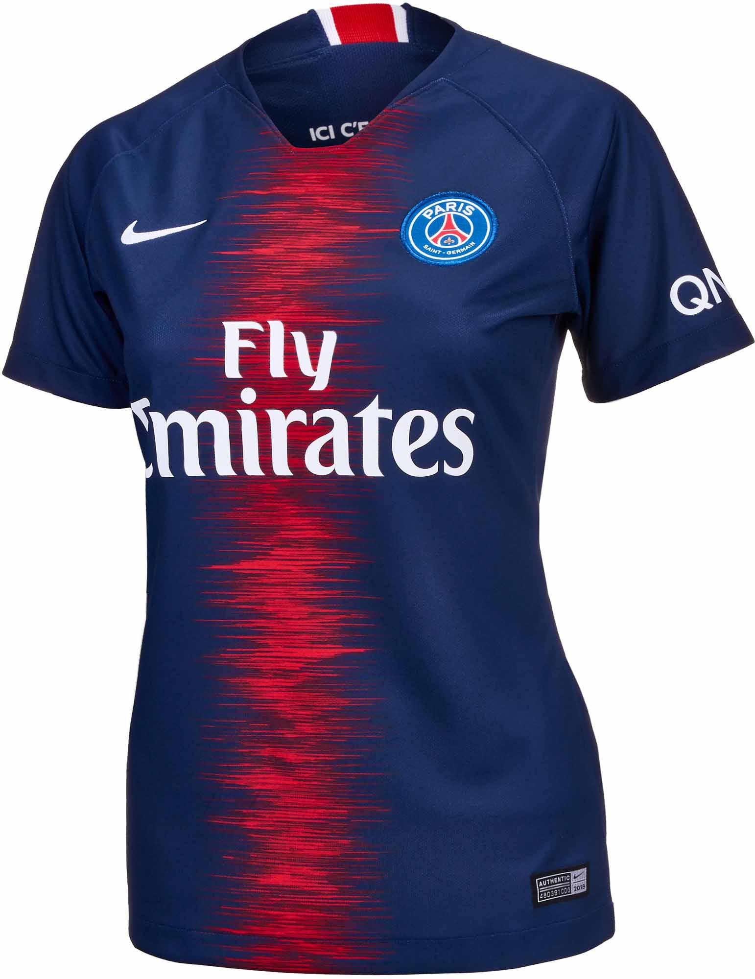 05912fdb957 Nike PSG Home Jersey - Womens 2018-19 - Cleatsxp