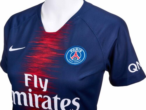 Nike PSG Home Jersey – Womens 2018-19