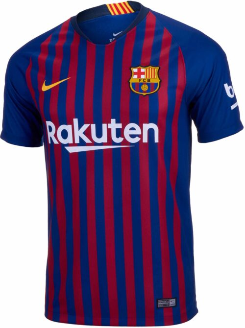 Nike Barcelona Home Jersey – Youth 2018-19
