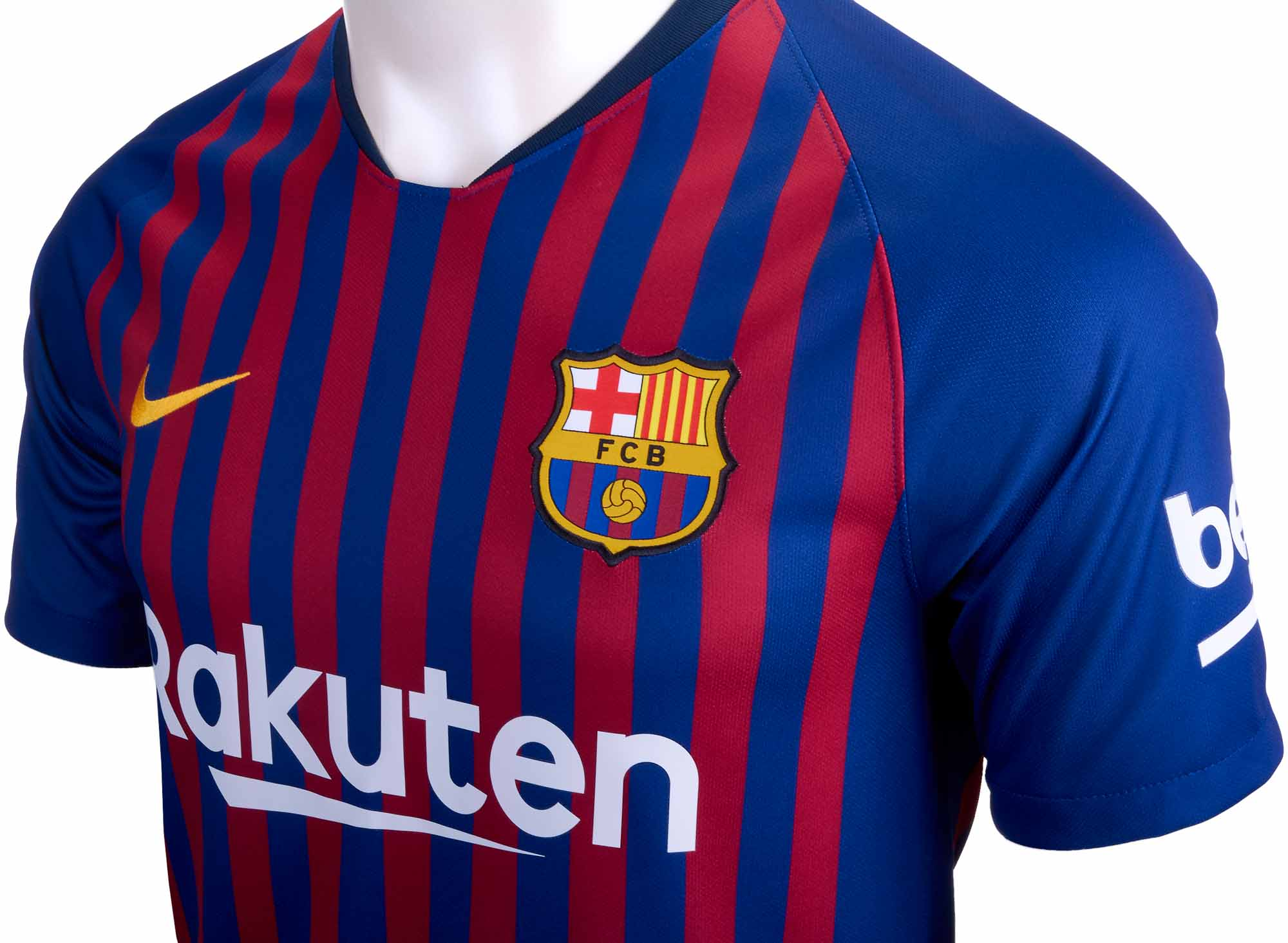 2ac93eeab7d Nike Philippe Coutinho Barcelona Home Jersey - Youth 2018-19 - Cleatsxp