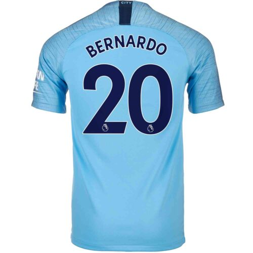 2018/19 Kids Nike Bernardo Silva Manchester City Home Jersey