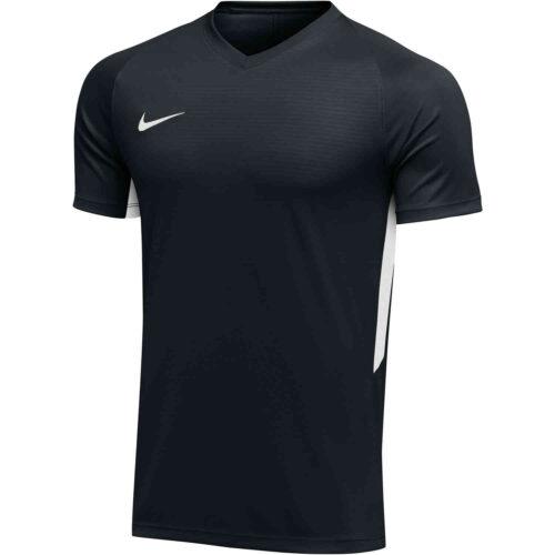 Womens Nike US Tiempo Premier Jersey – Black