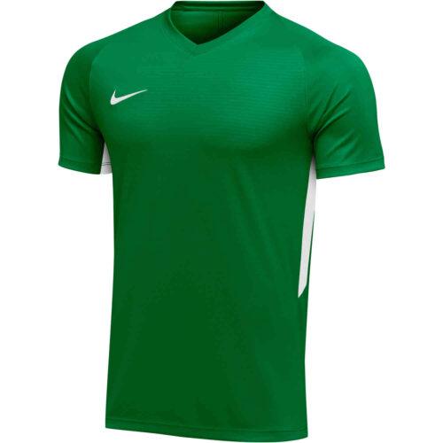 Womens Nike US Tiempo Premier Jersey – Pine Green