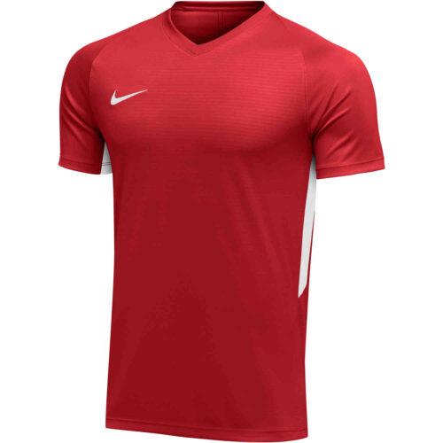 Womens Nike US Tiempo Premier Jersey – University Red