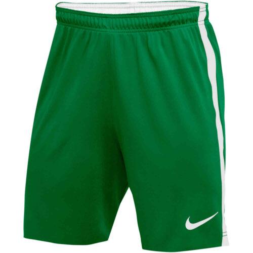 Womens Nike US Woven Venom II Shorts – Pine Green