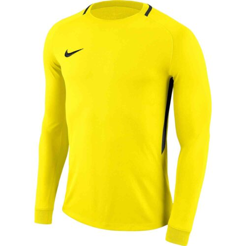 Kids Nike Park III Goalkeeper Jersey – Opti Yellow