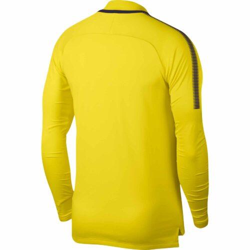 Nike Tottenham Drill Top – Opti Yellow/Purple Dynasty