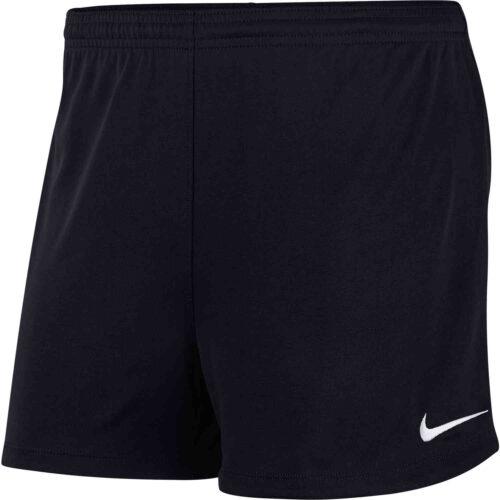 Womens Nike Park II Shorts – Black