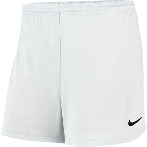 Womens Nike Park II Shorts – White