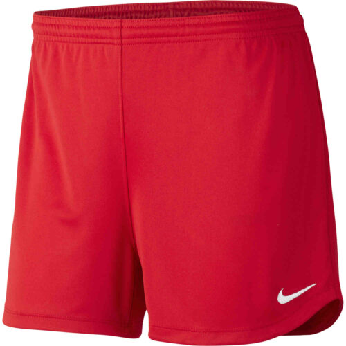 Womens Nike Park II Shorts – Scarlet