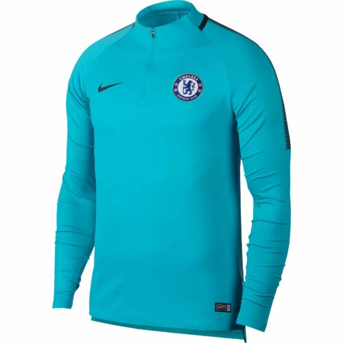 Nike Kids Chelsea Drill Top – Omega Blue/Anthracite