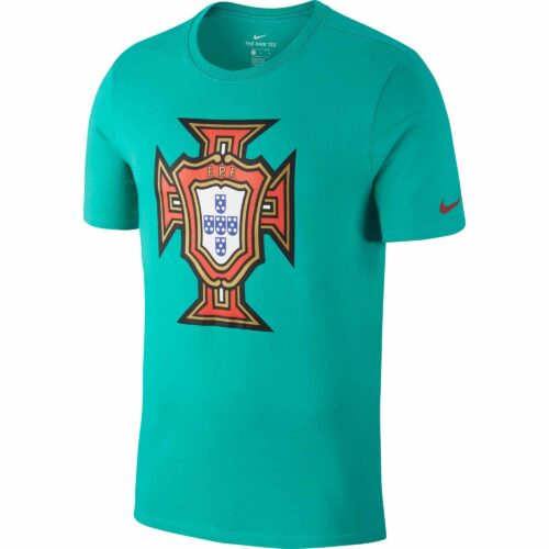 Nike Portugal Large Crest Tee – Youth – Kinitec Green