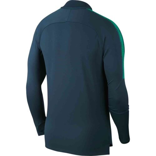 Nike Tottenham Squad Drill Top – Navy/Neptune Green