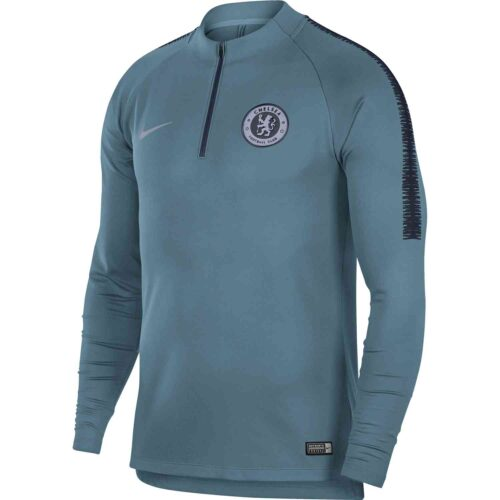 Nike Chelsea Squad Drill Top – Celestial Teal/Obsidian