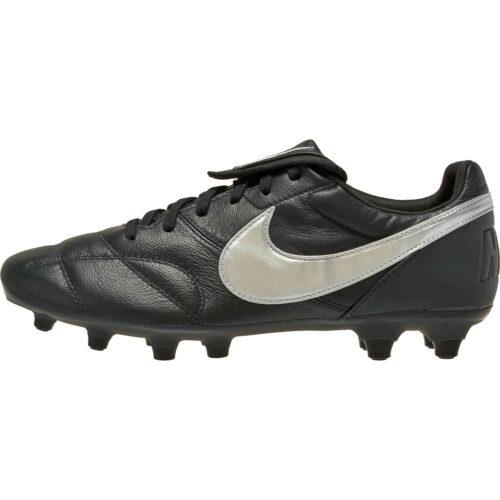 Nike Premier II FG – Off Noir & Metallic Silver with Black