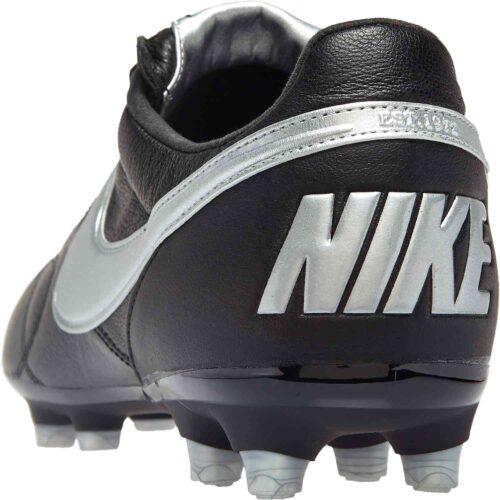 Nike Premier II FG – Black/Metallic Silver