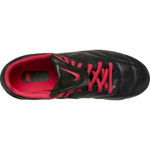 Nike Premier II FG – Black & Black with Very Berry