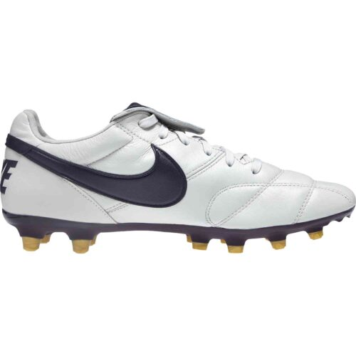 Nike Premier II FG – Light Bone/Burgundy/Ash/Metallic Vivid Gold