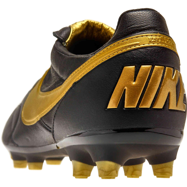 ffeeb83e2d6e The Nike Premier II FG - Black/Metallic Vivid Gold - SoccerPro