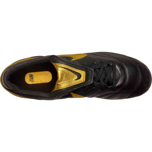 The Nike Premier II FG – Black/Metallic Vivid Gold