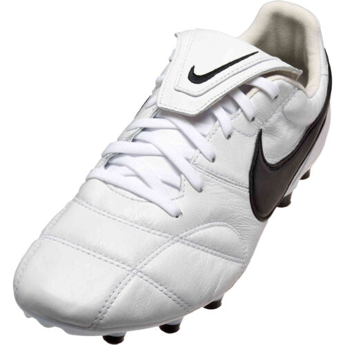 Nike Premier II FG – White & Black with White