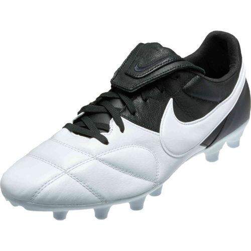 Nike Premier II FG – White/White/Black