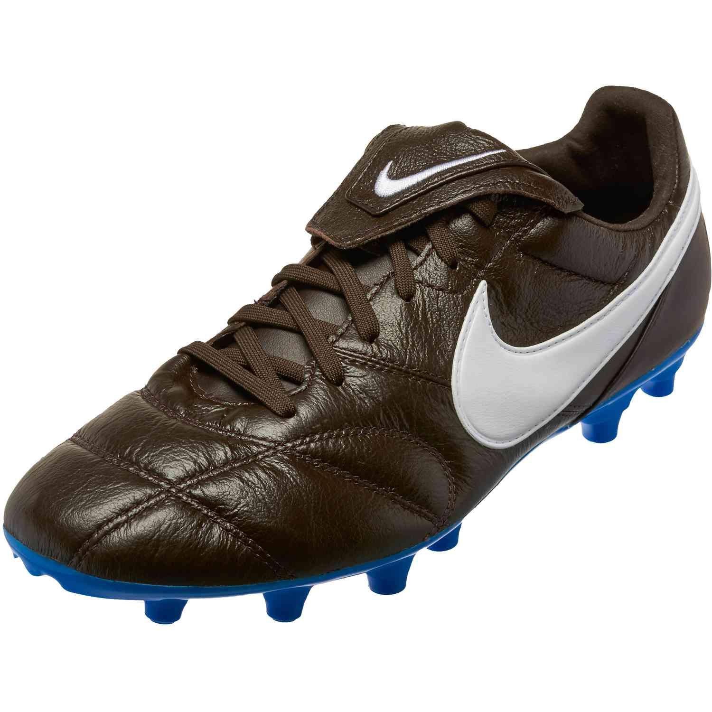 b2ad58f54 Nike Premier II FG - Velvet Brown/White/Blue Hero - SoccerPro