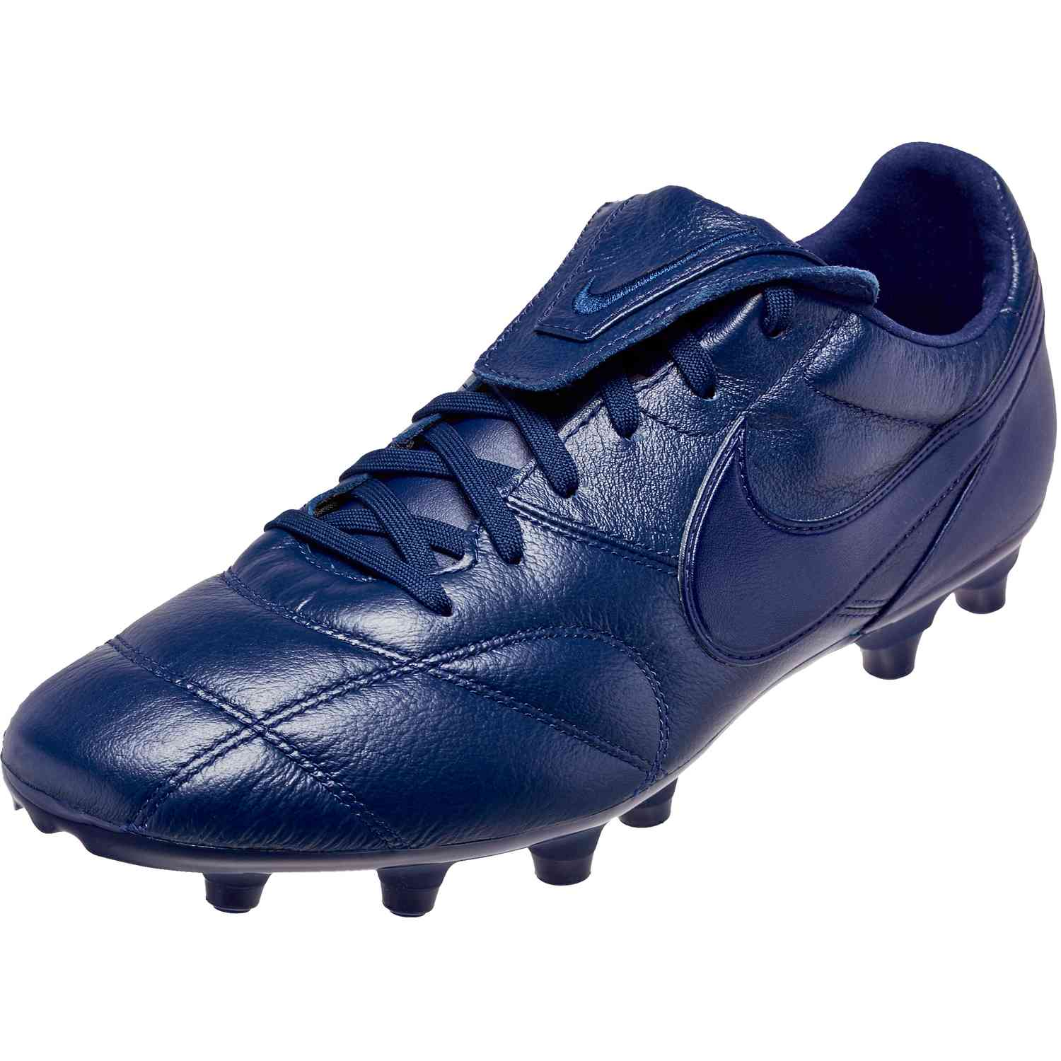 79cd39b2b824 Nike Premier II FG - Midnight Navy Midnight Navy - SoccerPro