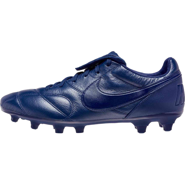 Nike Premier II FG - Midnight Navy Midnight Navy - SoccerPro 64aed77a3