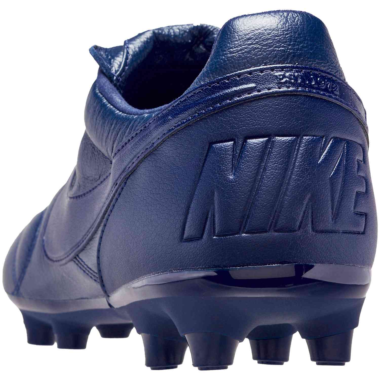 f51d138e8 Nike Premier II FG - Midnight Navy Midnight Navy - SoccerPro