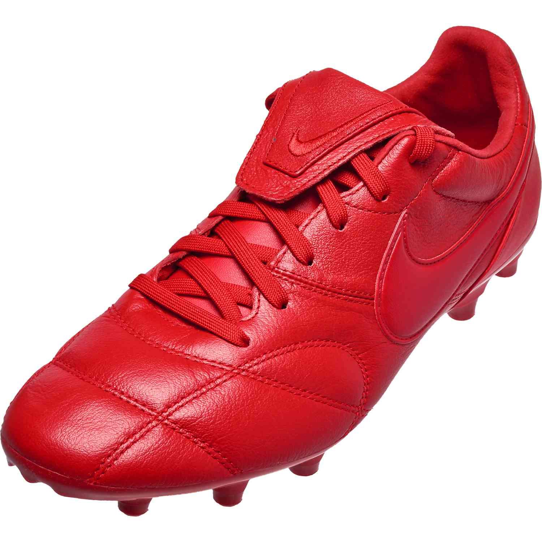 ed55b7d3c22f7 Nike Premier II FG - Gym Red - SoccerPro