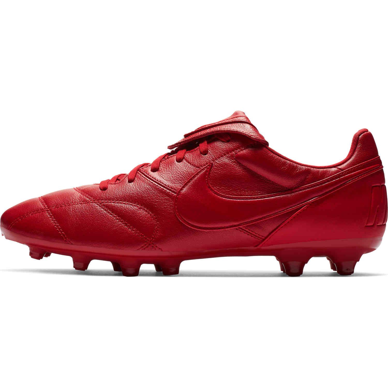 Nike Premier II FG - Gym Red - SoccerPro