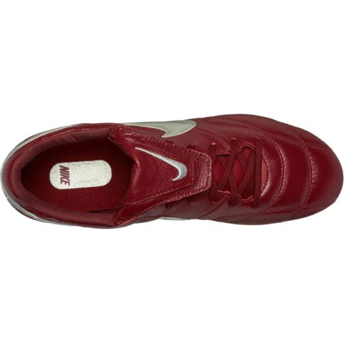 Nike Premier II FG – Team Red/Metallic Silver/Team Red