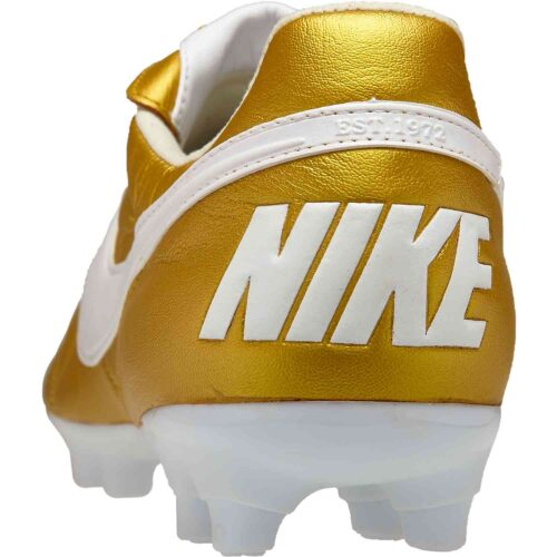 The Nike Premier II FG – Metallic Vivid Gold/White