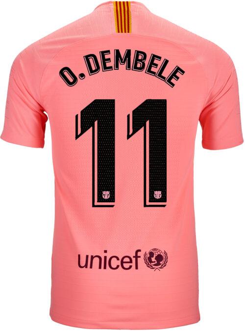 2018/19 Nike Ousmane Dembele Barcelona 3rd Match Jersey