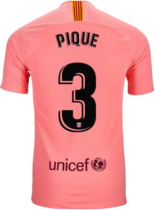 2018/19 Nike Gerard Pique Barcelona 3rd Match Jersey