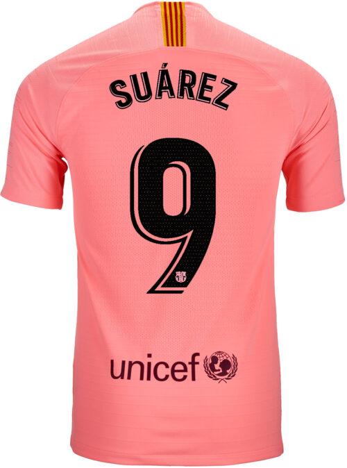 2018/19 Nike Luis Suarez Barcelona 3rd Match Jersey