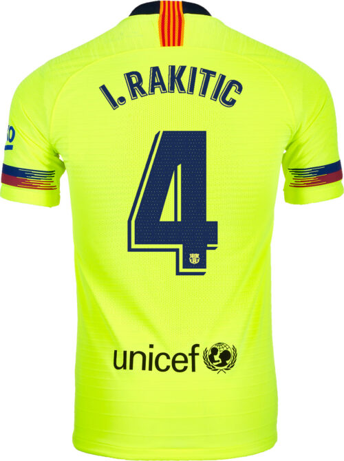 2018/19 Nike Ivan Rakitic Barcelona Away Match Jersey