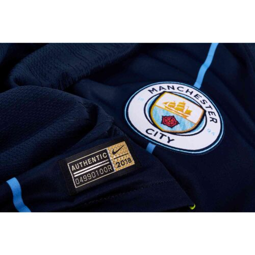 2018/19 Nike Manchester City Away Match Jersey