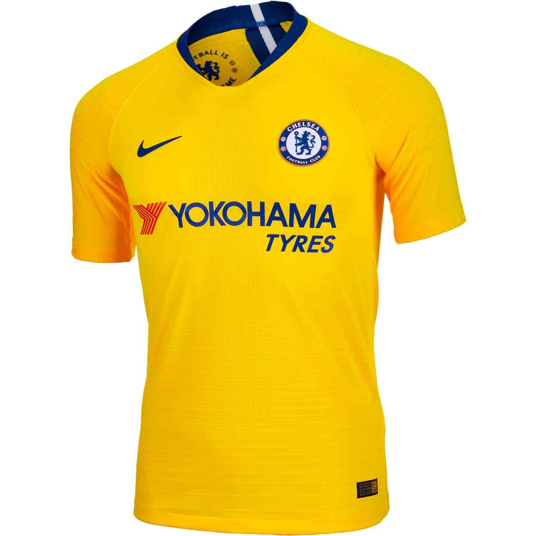 6ba037fd065 2018 19 Nike Chelsea Away Match Jersey - SoccerPro